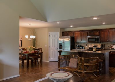Kitchen And Great Room 1 Shaw New Homes Tulsa 13001 E. 43rd Street South Tulsa, Oklahoma