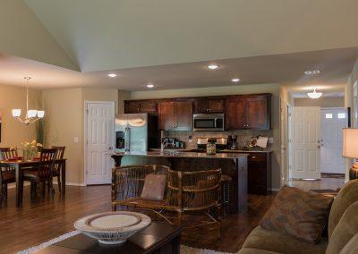 Kitchen And Great Room 2 Shaw New Homes Tulsa 13001 E. 43rd Street South Tulsa, Oklahoma