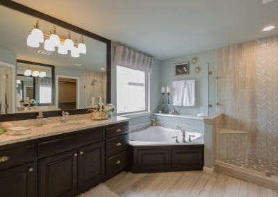 Master Bath 1 Shaw 3619 S Fir Blvd Ave Monroe In Village At Southern Trails Broken Arrow, Oklahoma