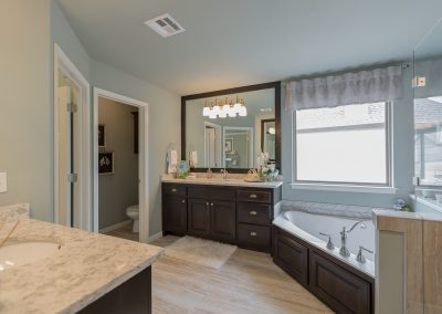 Master Bath 4 Shaw 3619 S Fir Blvd Ave Monroe In Village At Southern Trails Broken Arrow, Oklahoma