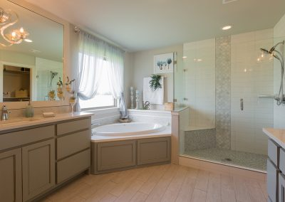 Master Bathroom 1 Monroe In The Estates At The River Shaw Tulsa New Home Builder