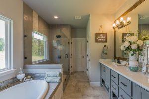 Master Bathroom 1 Shaw 3219 W. 118th St. S. Jenks, Oklahoma Monterrey In Timber Creek
