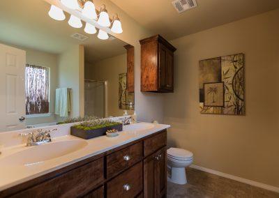 Master Bathroom 1 Shaw New Homes Tulsa 13001 E. 43rd Street South Tulsa, Oklahoma