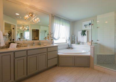 Master Bathroom 2 Monroe In The Estates At The River Shaw Tulsa New Home Builder