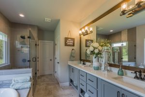 Master Bathroom 2 Shaw 3219 W. 118th St. S. Jenks, Oklahoma Monterrey In Timber Creek
