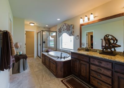 Master Bathroom 2 Shaw 6672 E. 125th St. S. Wyndham In Seven Lakes Bixby, Oklahoma
