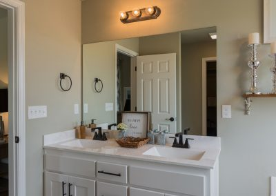 Master Bathroom 2 Shaw New Homes Tulsa 3809 N. 33rd St. Cambridge In Silver Leaf Broken Arrow, Oklahoma