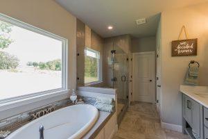Master Bathroom 3 Shaw 3219 W. 118th St. S. Jenks, Oklahoma Monterrey In Timber Creek