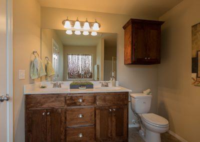 Master Bathroom 3 Shaw New Homes Tulsa 13001 E. 43rd Street South Tulsa, Oklahoma