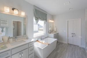 Master Bathroom 3033 Birchwood Cir, Edmond, OK 73007 Shaw Homes Redford 1H Model Home (1)