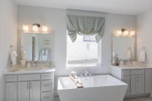 Master Bathroom 3033 Birchwood Cir, Edmond, OK 73007 Shaw Homes Redford 1H Model Home (2)