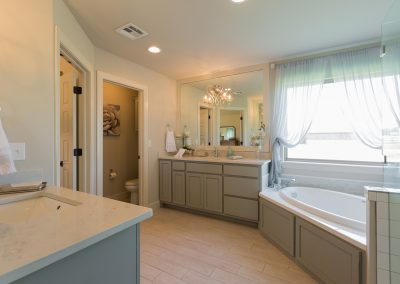 Master Bathroom 4 Monroe In The Estates At The River Shaw Tulsa New Home Builder