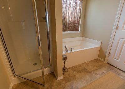 Master Bathroom 4 Shaw New Homes Tulsa 13001 E. 43rd Street South Tulsa, Oklahoma