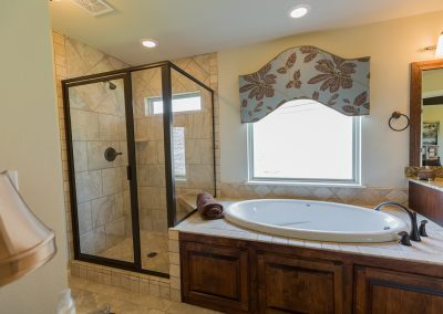 Master Bathroom 6 Shaw 6672 E. 125th St. S. Wyndham In Seven Lakes Bixby, Oklahoma