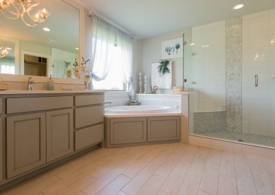 Master Bathroom 8 Monroe In The Estates At The River Shaw Tulsa New Home Builder