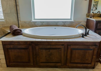 Master Bathroom 8 Shaw 6672 E. 125th St. S. Wyndham In Seven Lakes Bixby, Oklahoma