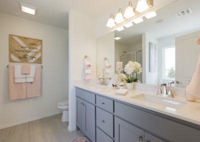 Master Bathroom Shaw Homes 8201 NW 151st Terrace Jasmine In Twin Silos Oklahoma City, OK (1)