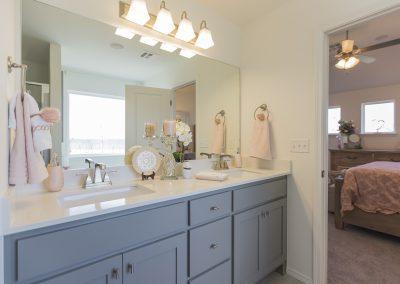 Master Bathroom Shaw Homes 8201 NW 151st Terrace Jasmine In Twin Silos Oklahoma City, OK (2)