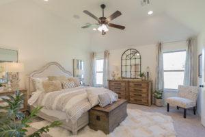Master Bed Shaw Homes 23107 E. 101st Pl. S. Gardenia In Highland Creek Broken Arrow, Oklahoma 74014 (2)