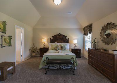 Master Bedroom 1 Shaw New Homes Tulsa 13001 E. 43rd Street South Tulsa, Oklahoma