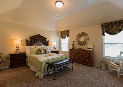 Master Bedroom 3 Shaw New Homes Tulsa 13001 E. 43rd Street South Tulsa, Oklahoma