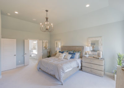Master Bedroom 3033 Birchwood Cir, Edmond, OK 73007 Shaw Homes Redford 1H Model Home (3)