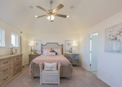 Master Bedroom Shaw Homes 8201 NW 151st Terrace Jasmine In Twin Silos Oklahoma City, OK (1)