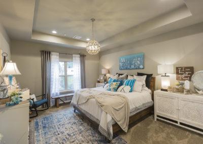 Master Bedroom Shaw Homes 825 N. 89th St. Nottinghill V In Spring At Forest Ridge Broken Arrow, Oklahoma (1)