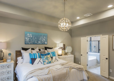 Master Bedroom Shaw Homes 825 N. 89th St. Nottinghill V In Spring At Forest Ridge Broken Arrow, Oklahoma (2)