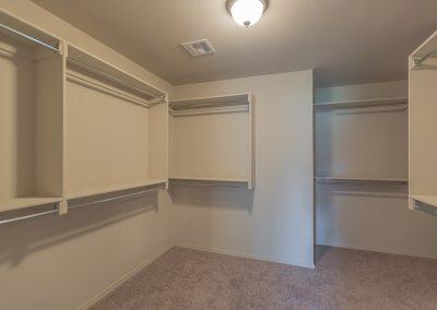 Master Closet 1 Shaw Homes 6700 S 20th Pl Ellington In Tucson Village Broken Arrow, Oklahoma