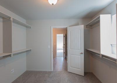Master Closet 1 Shaw Homes 6709 S 20th St Liberty In Tucson Village Broken Arrow, Oklahoma
