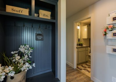 Mudroom 1 Monroe In The Estates At The River Shaw Tulsa New Home Builder