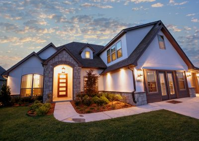 Twilight 3 Monroe In The Estates At The River Shaw Tulsa New Home Builder