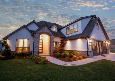 Twilight 4 Monroe In The Estates At The River Shaw Tulsa New Home Builder