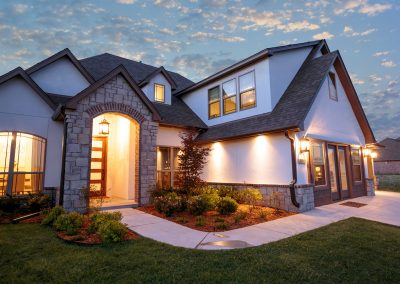 Twilight 5 Monroe In The Estates At The River Shaw Tulsa New Home Builder