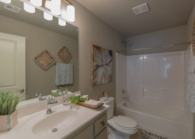 Upstairs Bathroom 1 Shaw 3619 S Fir Blvd Ave Monroe In Village At Southern Trails Broken Arrow, Oklahoma