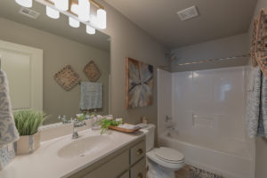 Upstairs Bathroom 2 Shaw 3619 S Fir Blvd Ave Monroe In Village At Southern Trails Broken Arrow, Oklahoma