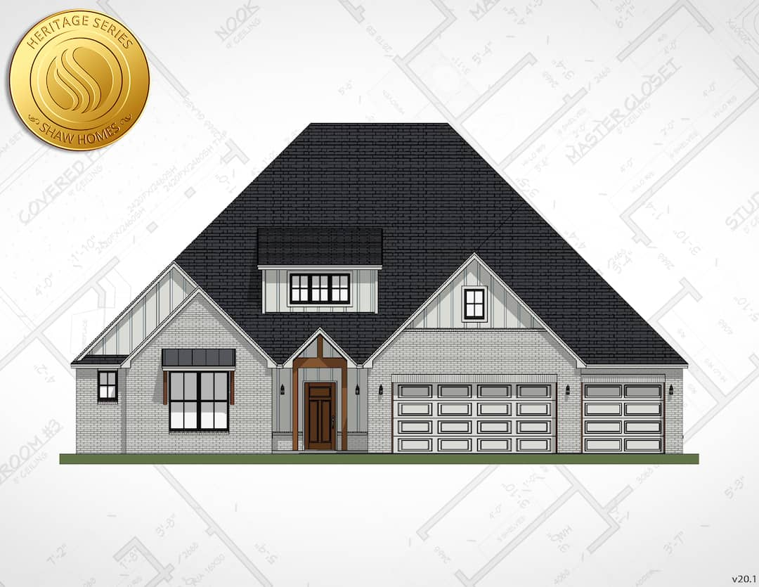 Shaw Homes | Valencia Elevation