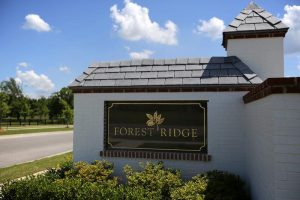 Tulsa Home Builders 383821799885481 Forest Ridge Entrance