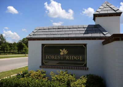 Tulsa Home Builders 383821799885481 Forest Ridge Entrance
