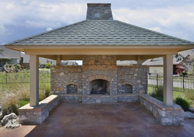 Tulsa Home Builders 695668418426066 Fireplace At Village At Southern Trails