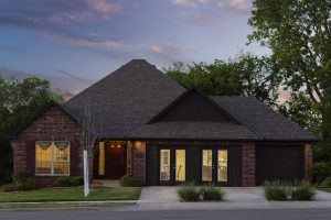 Tulsa Home Builders 945388240739703 Ashton Twilight Front