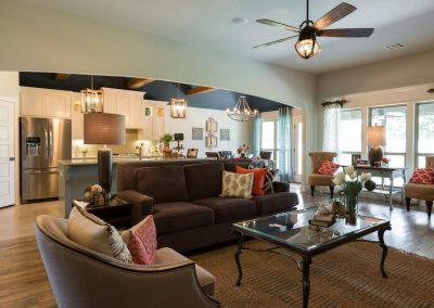 Tulsa Home Builders Monroe 1 490776122082024 Great Room 4 Monroe In The Estates At The River Shaw Tulsa New Home Builder