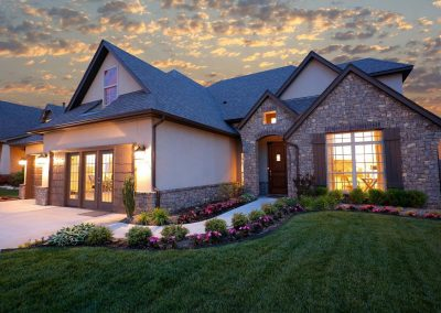 Tulsa Home Builders Monterrey 699285487644374 Monterrey Twilight